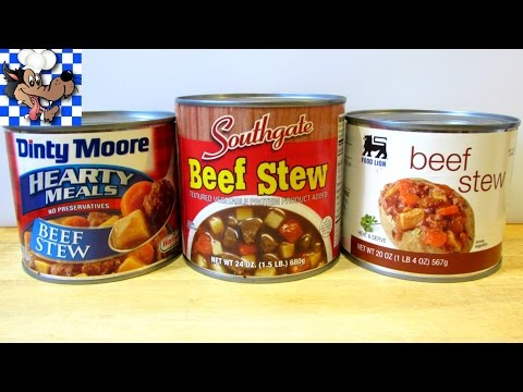 Beef Stew - Canned Beef Stew - WHAT ARE WE EATING????