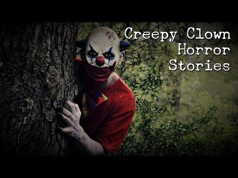 4 Creepy Clown Horror Stories