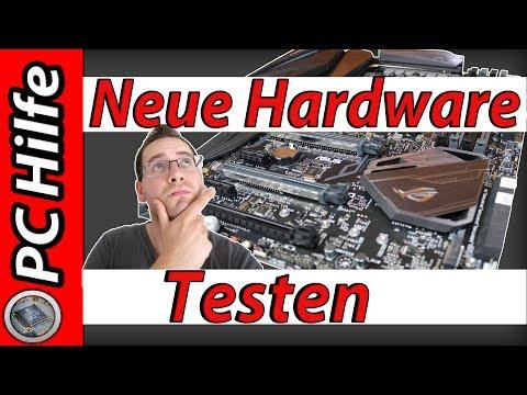 Neue Hardware TESTEN?! ABER WIE? / PC Hilfe #1 [Deutsch / German]