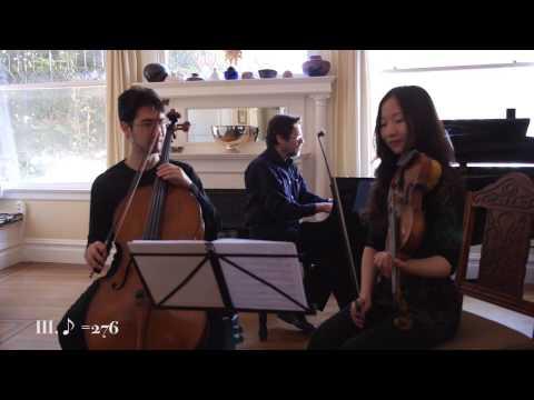 Piano Trio (2013) - Frederick Adler