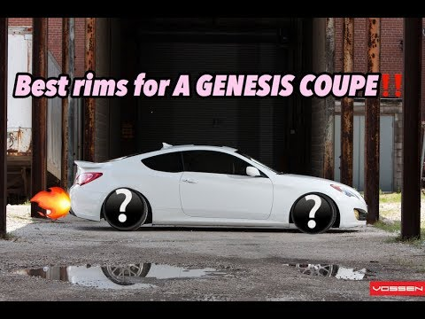 The PERFECT wheels for the GENESIS COUPE (wheel Reveal!)