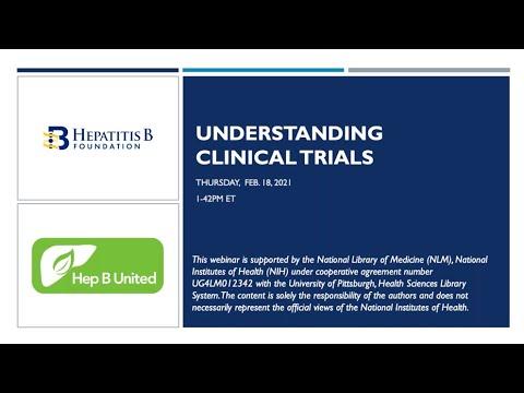 , title : 'Understanding Clinical Trials for Hepatitis B