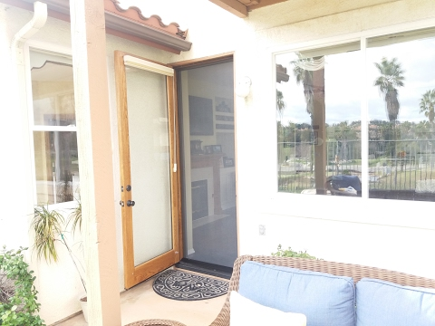 Want To Put A Screen Door On A Door That Swings Outward? This Is How.