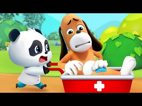 Mr.Dao's  Plan to Send Baby Panda to Circus | Magical Chinese Characters | BabyBus Cartoon