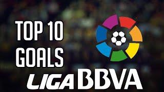 Liga BBVA ● Top 10 Goals 2014/2015 ● official By FIFA| احسن 10 اهداف في الليجا الاسبانية