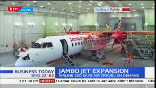 Jambo Jet increases additional flights to various destinations in the country