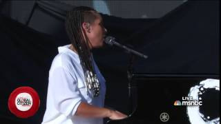 Alicia Keys - We are here (Global Citizen Festival)