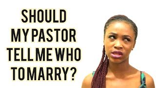 What Is My Pastor's Business With Who I Marry? | Fadekemi Adeoye