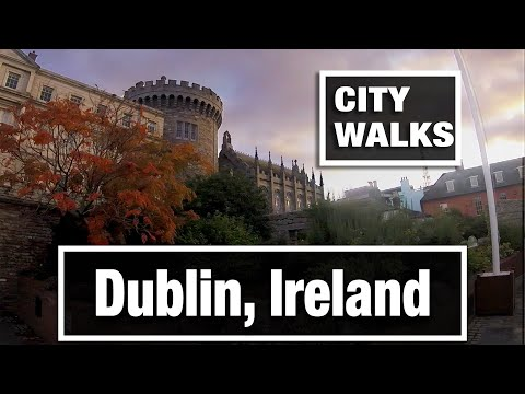 City Walks: Dublin, Ireland In The Old Town Center Mp3