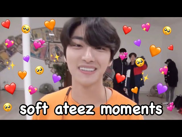 just some soft ateez moments