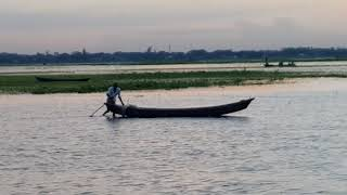 preview picture of video 'Natural Beauty Of Meghna River Narsingdi'