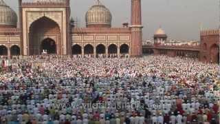 Eid-ul-Fitr : a celebration of Muslim faith in India