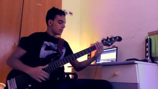 The Word Alive - Broken Circuit Bass Cover (Slap Tapping)