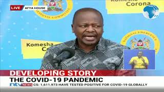LIVE:  MOH Press Conference on Covid -19