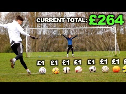 Giving the Goalkeeper £1 for Every Shot I DON'T Score (1000 Shots)