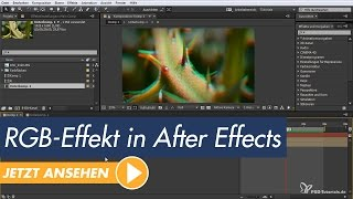 After Effects Tutorial - RGB-Splitt-Effekt Mit Kanalverschiebung Erzeugen