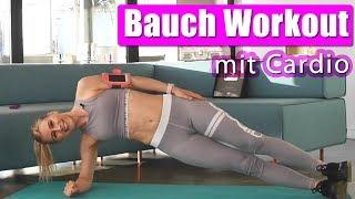 Ultimativ Effektives BAUCH WORKOUT + Cardio | BIKINI FIGUR für den Sommer schnell erreichen!