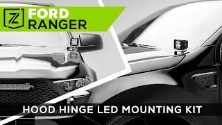 ZROADZ (Z365821): Hood Hinge LED Bracket for '19-'20 Ford Ranger