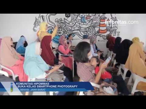 Komunitas Hipommas Buka Kelas Smartphone Photograpy, Grand Galaxy Bekasi