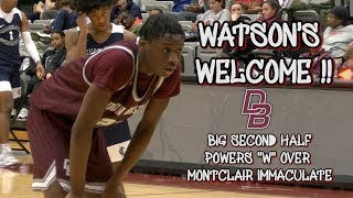 Don Bosco Prep 51 Montclair Immaculate 40 | Dennis Gregory Memorial Classic | Akil Watson 15 Points