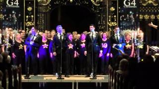 G4 Christmas Live performance Derby Cathedral You'll Never Walk Alone