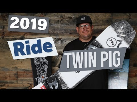2019 Ride Twin Pig Snowboard Review