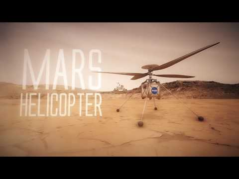 NASA's Mars Helicopter Will Join the Mars Rover