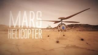 Um helicóptero em Marte