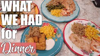 What's for Dinner?   Cooking Family Meals at Home   April 2020