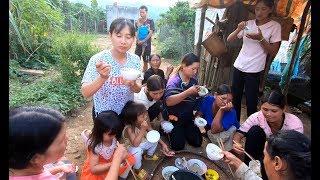 Ăn cơm cùng gia đình Chị K'Thi - Hương vị đồng quê - Bến Tre - Miền Tây