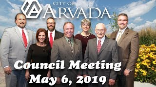 Preview image of Arvada City Council Meeting  - May 6, 2019