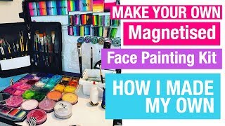 My Face Painting Craft N Go Alternative How I Made My Face Painting Kit