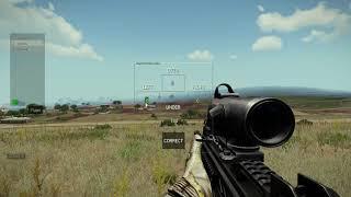 ARMA 3 : Тренажер Корректировщика