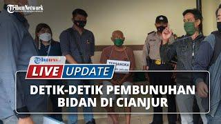 Tunjukkan Raut Muka Datar saat Rekonstruksi Suami Bunuh Istri di Cianjur, Pelaku Diamuk Keluarga