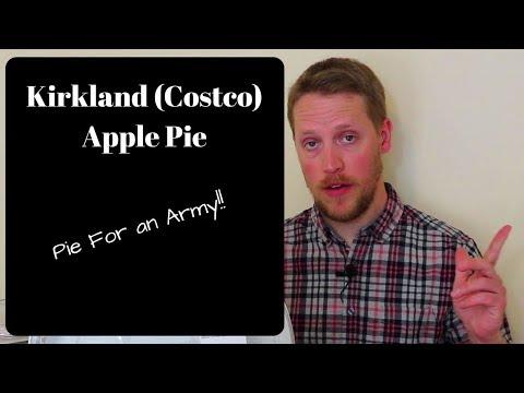 Kirkland (Costco) Apple Pie – DESSERT REVIEW
