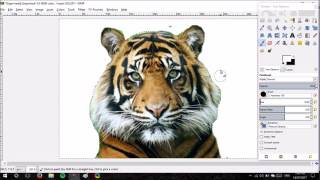GIMP Tutorial Indexing Image