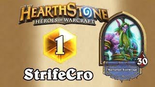 StrifeCro #1 Legend Druid - Hearthstone Deck Spotlight