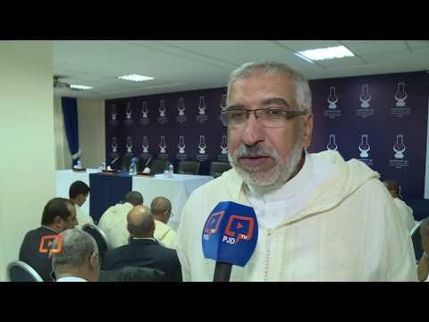 الحمداوي في اول حضور له بفريق الالمصباح بمجلس النواب