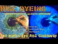 Disc Golf Dyeing Tutorial (and Giveaway) - Hand Drawing Dye with Scott Semposki