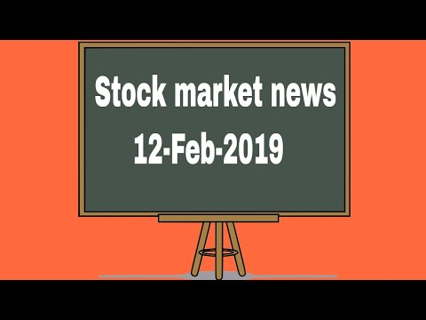 Stock market news #12feb2019 - reliance finance, lupin, sun pharma, hindalco, l&t 🔥🔥🔥
