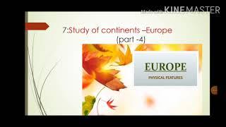 Europe  Physical Features (North European Plain)