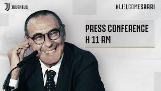 LIVE | Le Parole Di Maurizio Sarri Nella Conferenza Stampa Di Presentazione Alla Juventus