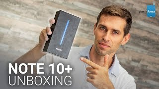 Galaxy Note 10+ unboxing and first look