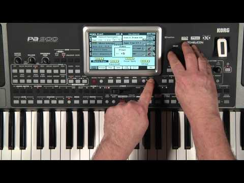 Korg PA 900 Arranger Keyboard