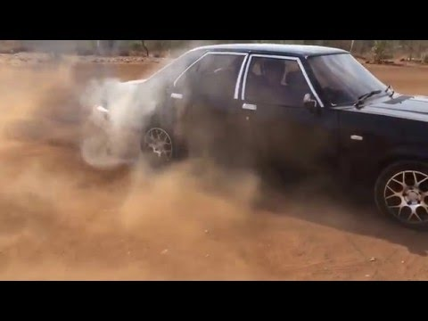 Burnout on Contessa Hindustan Motors