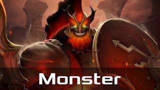 Monster — Mars, Offlane (Mar 7, 2019) | Dota 2 patch 7.21 gameplay