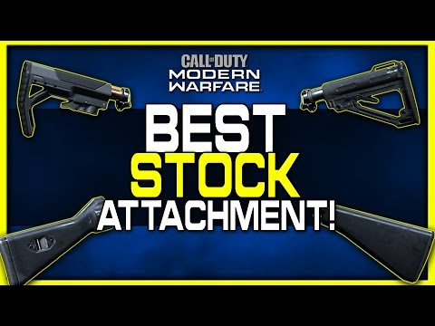 Which Stock is Best to Use? | Modern Warfare Attachment Guide