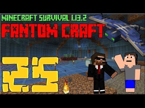 PODLAHA ARÉNY! Minecraft survival 1.13.2 - FANTOM CRAFT #25 /wCukeMan #aqua #fantomcraft