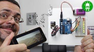Curso De Arduino Para Iniciantes - Aula 01 - Primeiros Passos (Exemplo De Um Vumeter)