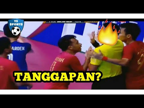 SENAM JANTUNG! INDONESIA (2) VS (3) THAILAND - Full Highlights AFF FUTSAL 2018